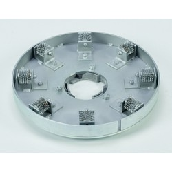 Plateau porte molettes acier pour Gavia 580 / 420