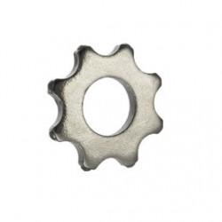 Molette au carbure de tungstène 8 pointes / 56 mm / alésage 25 mm