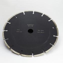 Disque diamanté diametre 230 mm pour asphalte / beton / materiaux abrasifs