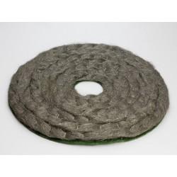 Disque en laine d' inox