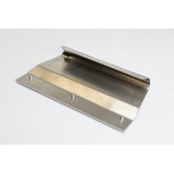 Spatule en aluminium pour lame dentée