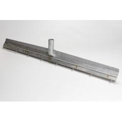 Raclette en aluminium et picots en acier traité