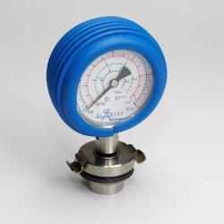 Medidor de pressão completo com tampa para bomba de carboneto de