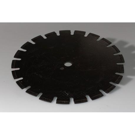 Disque diamanté diamètre 350 pour sciage asphalte à sec