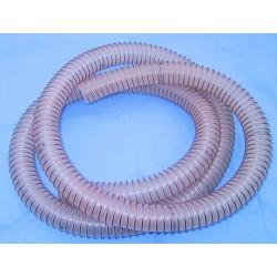 Flexible renforcé avec spirale acier diam. 40