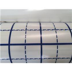 Polyane quadrillé 150 microns pour planchers chauffants
