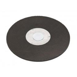 Plateau avec fixation de disques abrasifs