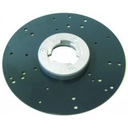 Plateau porte disques abrasifs Velcro