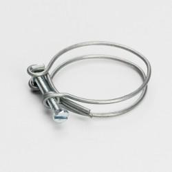 Collier double fil pour flexible